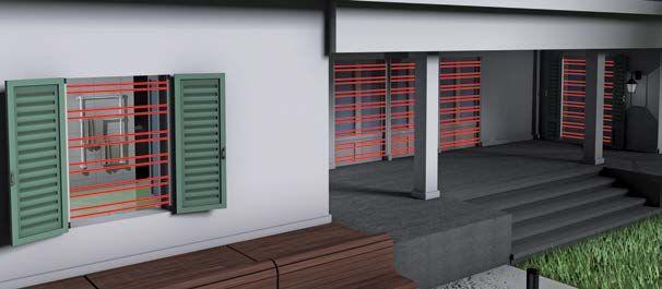 Sensore per esterno WINBEAM/S – DOORBEAM/S